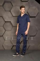 Блуза мужская медицинская 14-1476