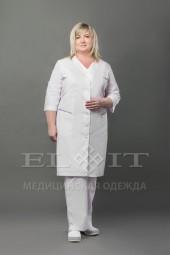 Халат женский медицинский 15-094